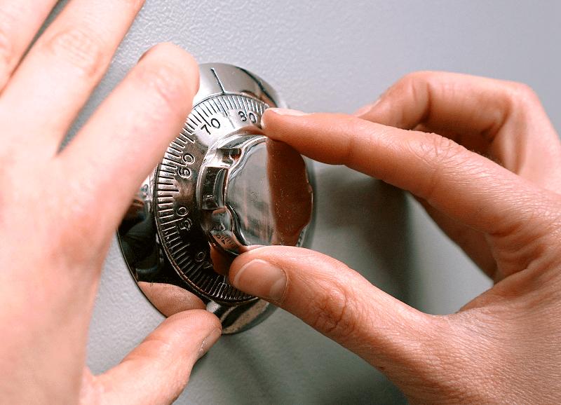 abrir caja fuerte - Cantidad de combinaciones de una caja fuerte